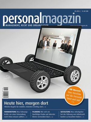 Personalmagazin Ausgabe 5/2016 | Personalmagazin