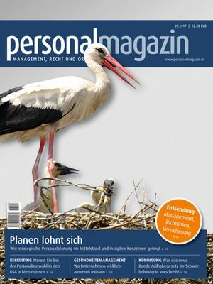 Personalmagazin 5/2017 | Personalmagazin
