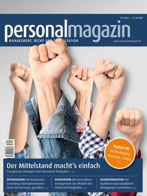 Personalmagazin 5/2018 | Personalmagazin