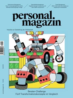 Personalmagazin Ausgabe 5/2019 Die Berater-Challenge | Personalmagazin