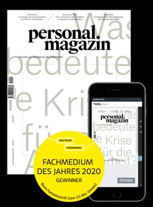 Personalmagazin Ausgabe 5/2020 Corona | Personalmagazin