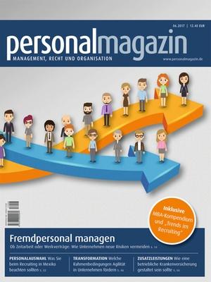 Personalmagazin 6/2017 | Personalmagazin