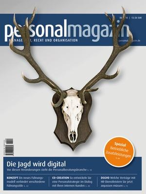 Personalmagazin 6/2018 | Personalmagazin