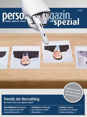 Personalmagazin spezial Trends im Recruiting 2018