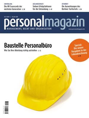 Personalmagazin Ausgabe 7/2009 | Personalmagazin
