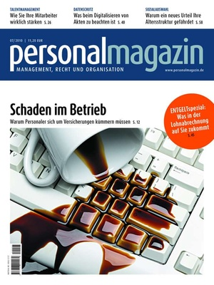 Personalmagazin Ausgabe 7/2010 | Personalmagazin