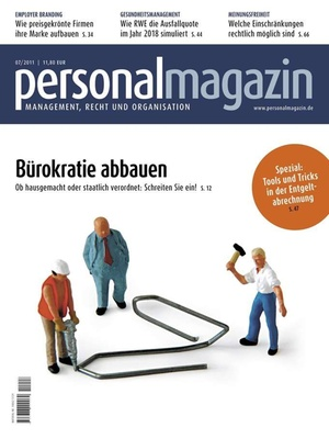 Personalmagazin Ausgabe 7/2011 | Personalmagazin