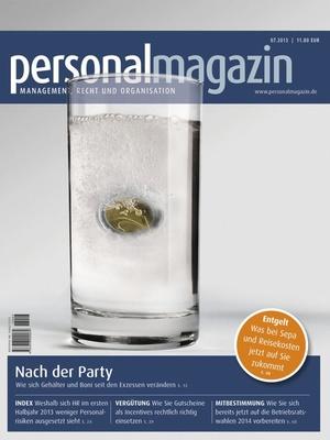 Personalmagazin Ausgabe 7/2013 | Personalmagazin