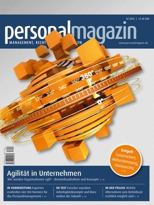 Personalmagazin, Ausgabe 7/2016 | Personalmagazin