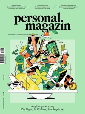 Personalmagazin Ausgabe 7/2019 Vergütungsberatungen | Personalmagazin