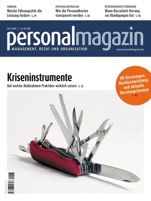 Personalmagazin Ausgabe 8/2009 | Personalmagazin