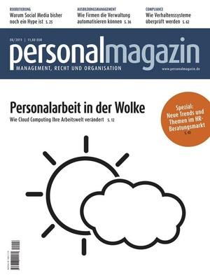 Personalmagazin Ausgabe 8/2011   Personalmagazin
