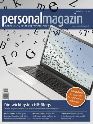Personalmagazin Ausgabe 8/2013 | Personalmagazin