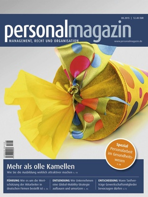 Personalmagazin Ausgabe 8/2015 | Personalmagazin