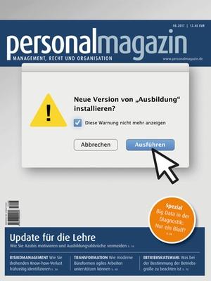 Personalmagazin 8/2017 | Personalmagazin