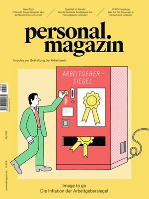 Personalmagazin Ausgabe 08/2018 | Personalmagazin