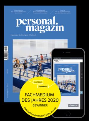 Personalmagazin Ausgabe 8/2020 HRM mit Abstand | Personalmagazin
