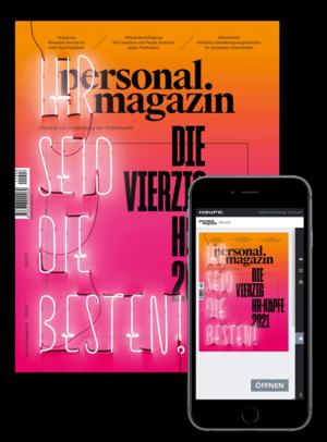 Personalmagazin Ausgabe 8/2021   Personalmagazin