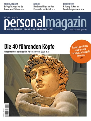 Personalmagazin Ausgabe 9/2009 | Personalmagazin