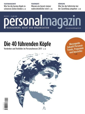 Personalmagazin Ausgabe 9/2011 | Personalmagazin