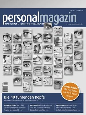 Personalmagazin Ausgabe 9/2013 | Personalmagazin