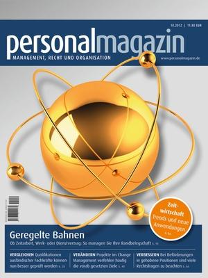 Personalmagazin Ausgabe 10/2012 | Personalmagazin