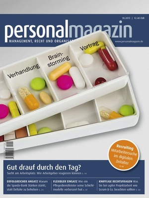 Personalmagazin Ausgabe 10/2015 | Personalmagazin