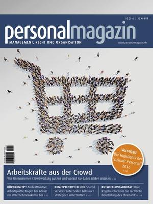 Personalmagazin 10/2016 | Personalmagazin