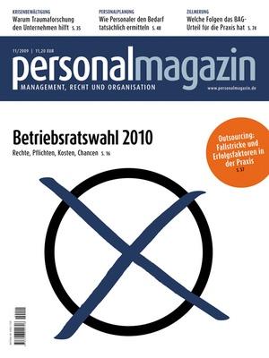 Personalmagazin Ausgabe 11/2009   Personalmagazin