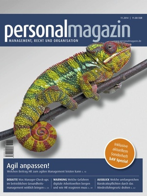 Personalmagazin Ausgabe 11/2014 | Personalmagazin