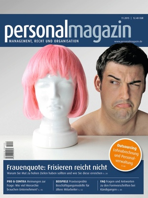 Personalmagazin Ausgabe 11/2015 | Personalmagazin