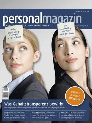 Personalmagazin 11/2016 | Personalmagazin