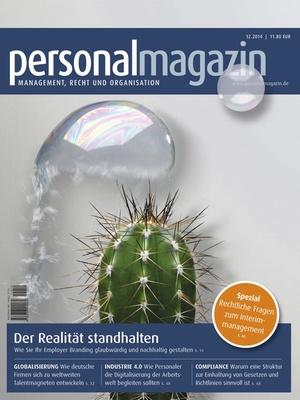 Personalmagazin Ausgabe 12/2014 | Personalmagazin