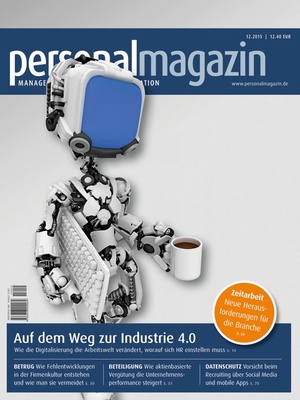 Personalmagazin Ausgabe 12/2015 | Personalmagazin
