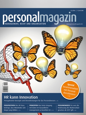 Personalmagazin 12/2016 | Personalmagazin