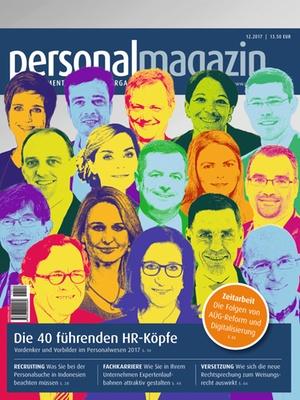 Personalmagazin 12/2017 | Personalmagazin