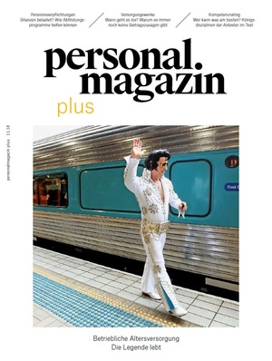 Personalmagazin plus bAV November 2018