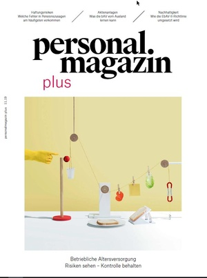Personalmagazin plus bAV November 2019