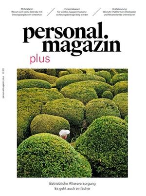 Personalmagazin plus bAV Herbst 2020