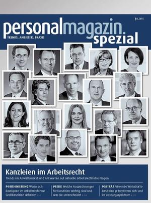 Sonderveröffentlichung: Kanzleien im Arbeitsrecht 2015