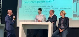 ZPE 2019: Künstliche Intelligenz auf der Podiumsdiskussion