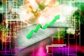 Positive Aktienkurve