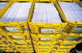 Postkisten mit Infopost