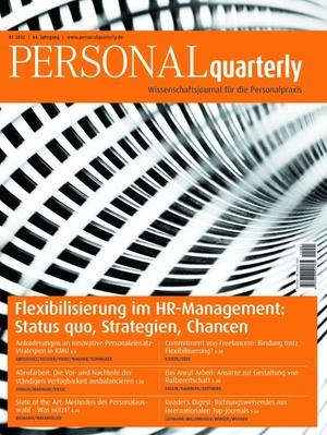Personal Quarterly Ausgabe 1/2012 | PERSONALquarterly