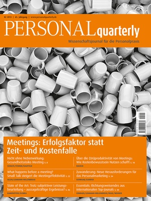 PERSONAL quarterly Ausgabe 2/2013 | PERSONALquarterly