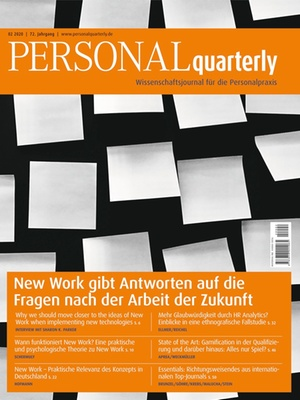 PERSONALquarterly 2/2020 New Work | PERSONALquarterly