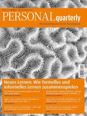 PERSONALquarterly 2/2021 Neues Lernen | PERSONALquarterly