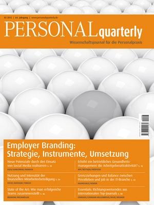 PERSONAL quarterly Ausgabe 3/2012   PERSONALquarterly