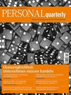 PERSONAL quarterly Ausgabe 3/2013 | PERSONALquarterly