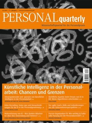 PERSONALquarterly 3/2019 Künstliche Intelligenz | PERSONALquarterly